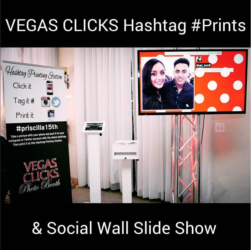Hashtag Printing Station & Social Wall