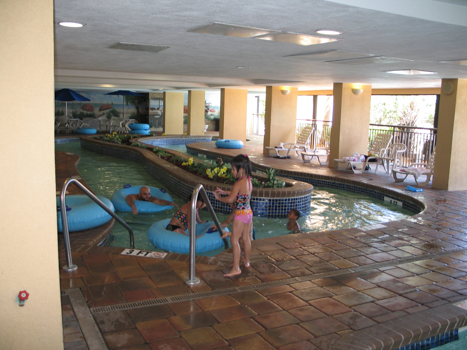 Holiday Inn at the Pavilion indoor lazy river