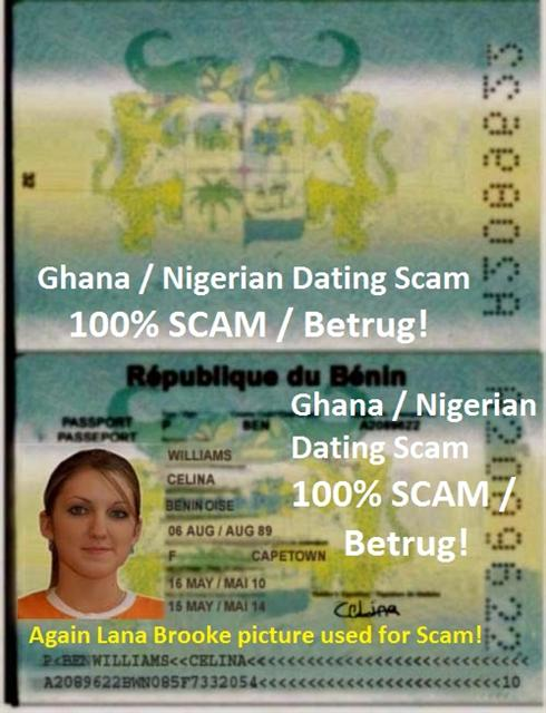 Nigerian scams on dating sites
