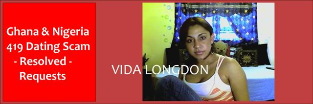 Ghana-Nigerian Dating & Gold Scam, Vida Longdon