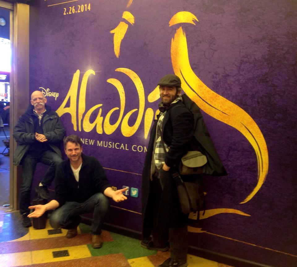 The Fight Crew for Aladdin