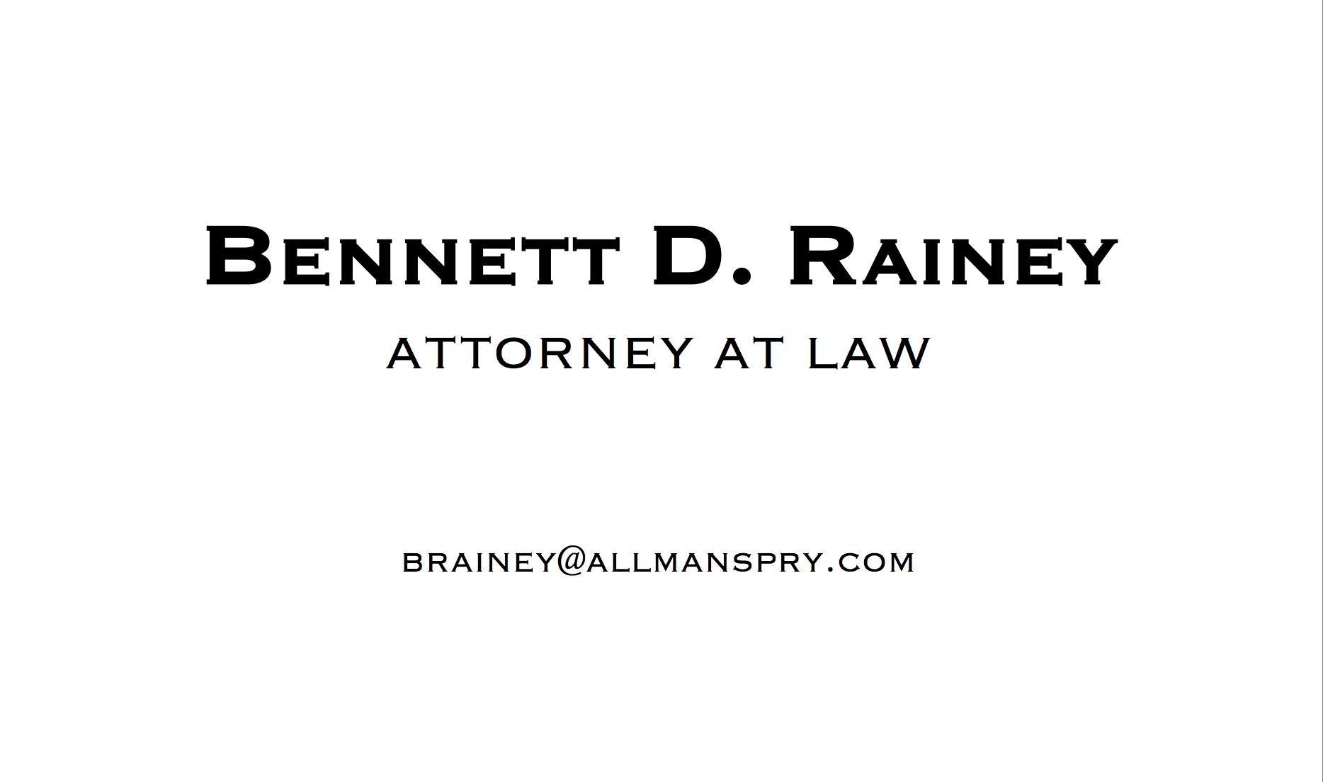 Bennett Rainey