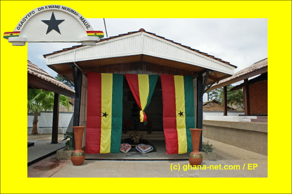 Pictures of the Kwame Nkrumah Museum and Mausoleum at Nkroful - g