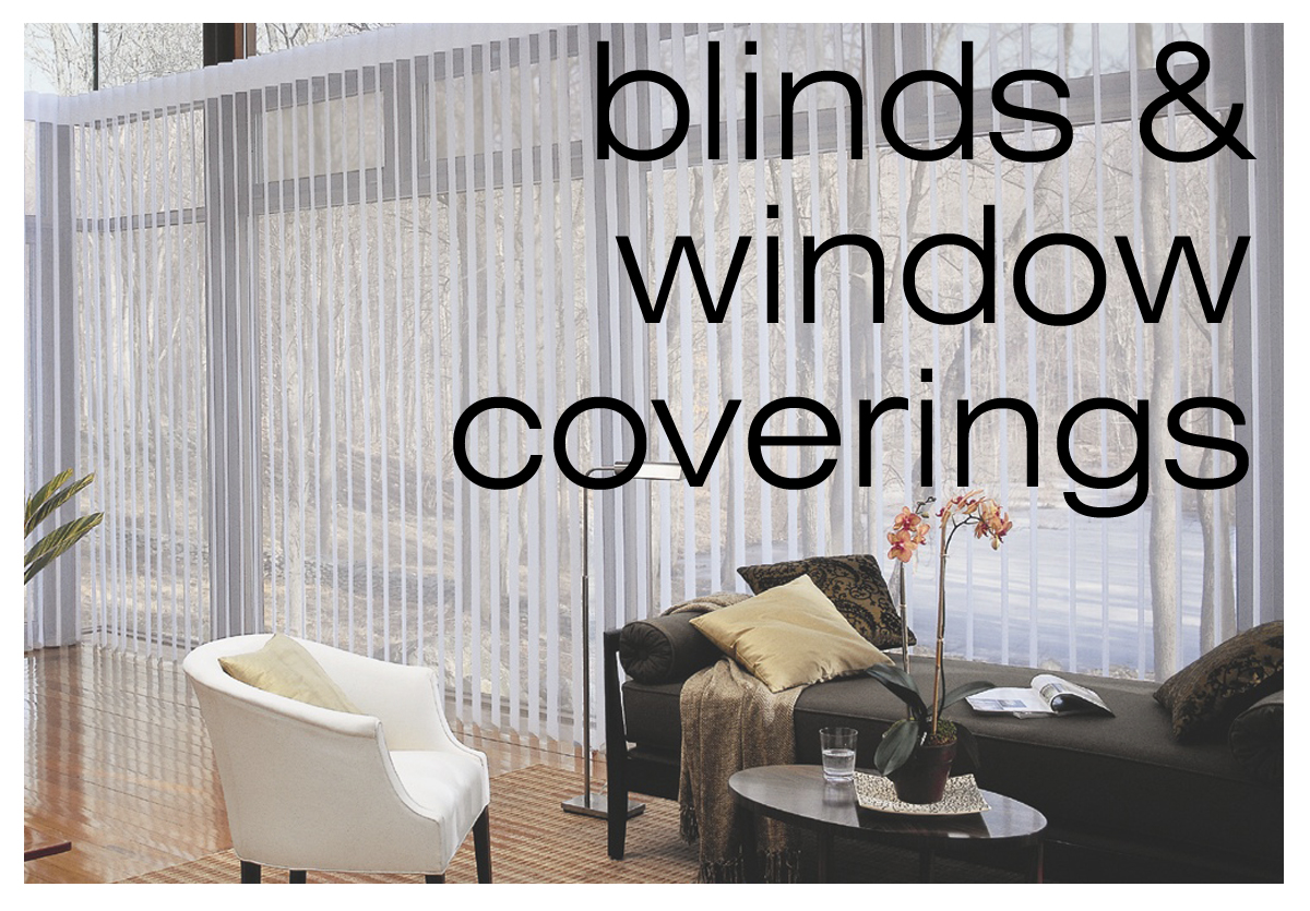 blinds & window coverings