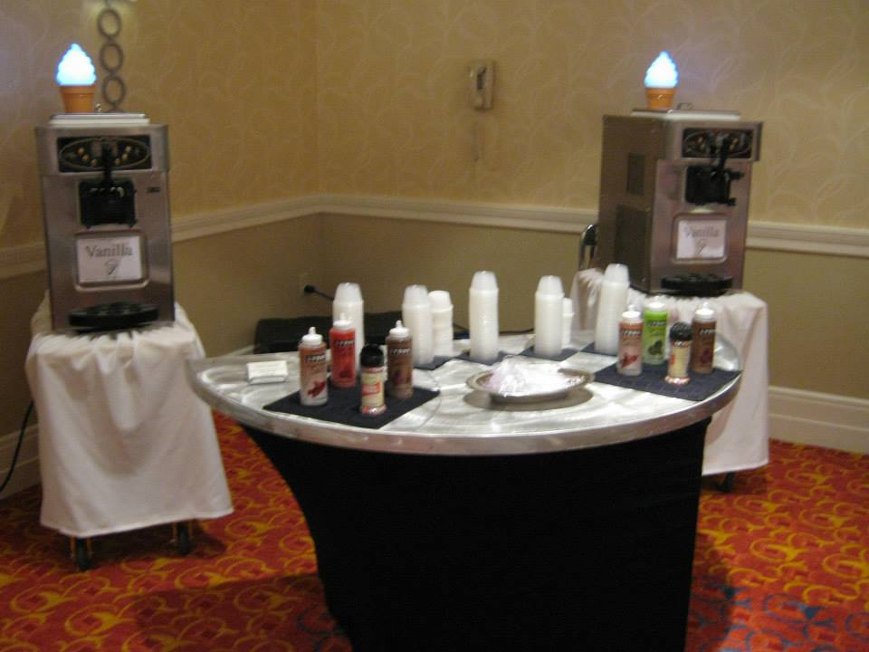 Soft Serve Ice Cream Machine Atlanta Event Catering