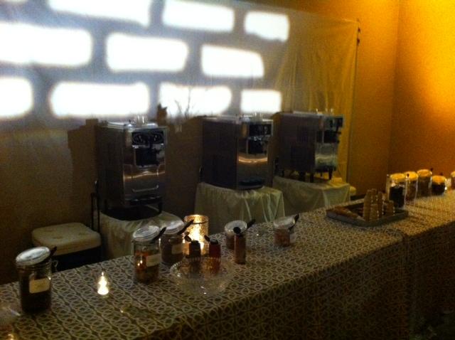 Atlanta Bar Mitzvah Ice Cream Bar