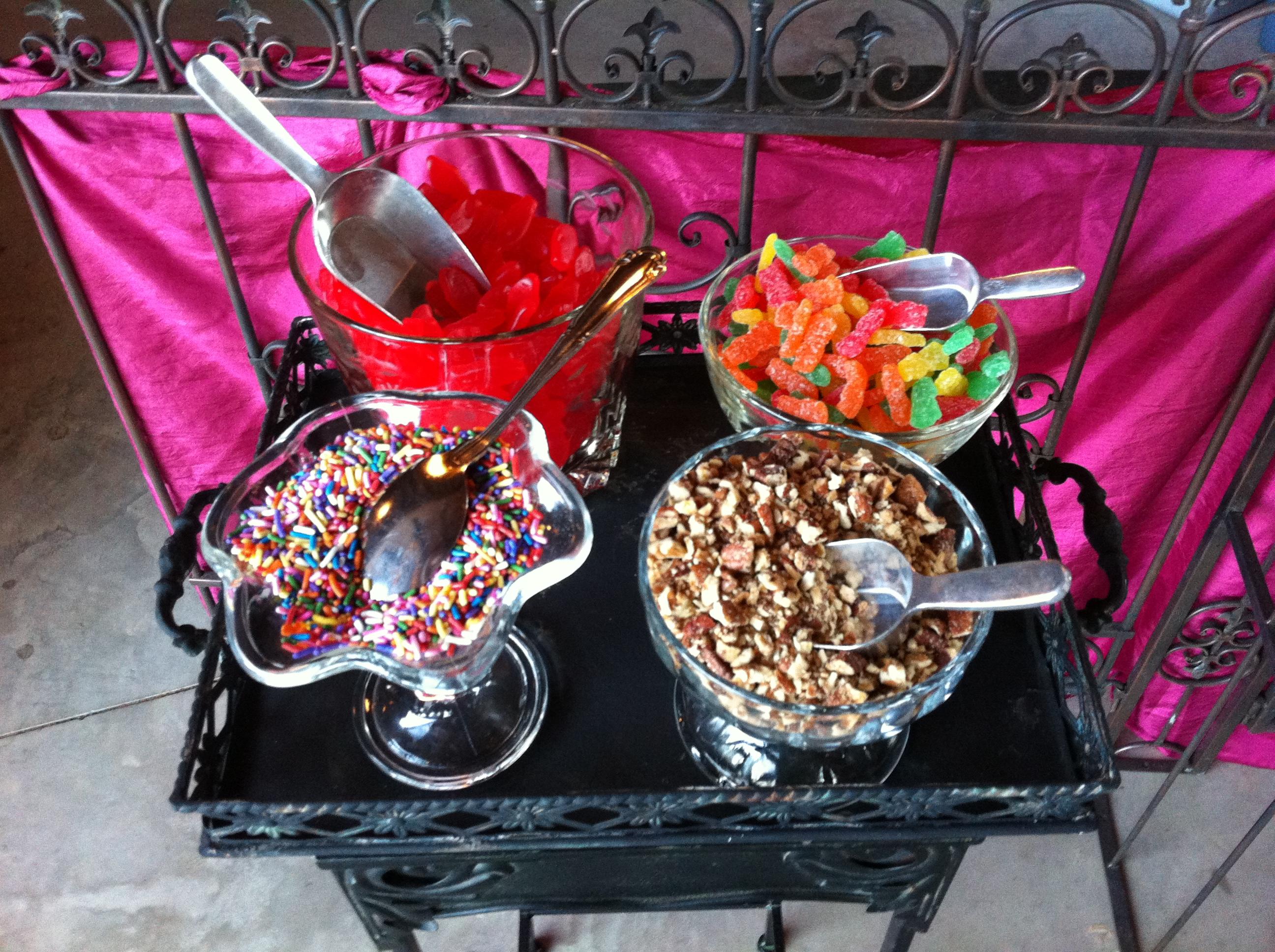 Georgia Wedding Dessert Bar Toppings