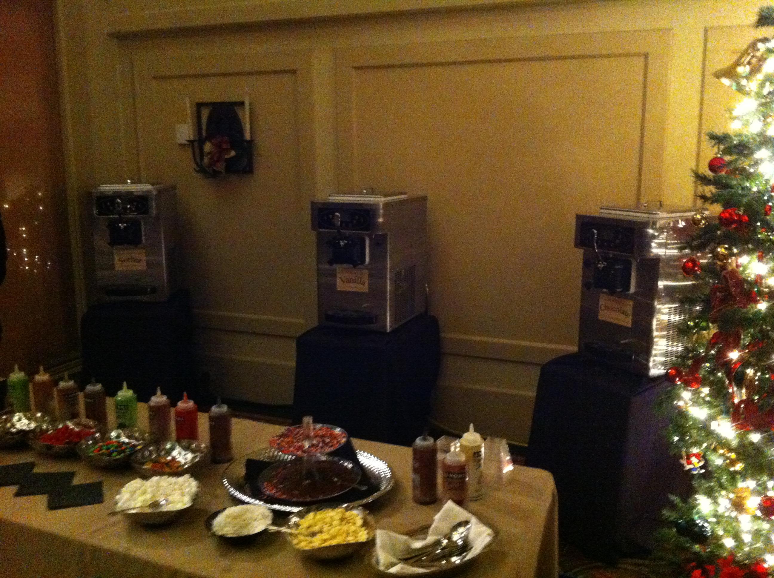 Holiday Froyo Catering Atlanta Events