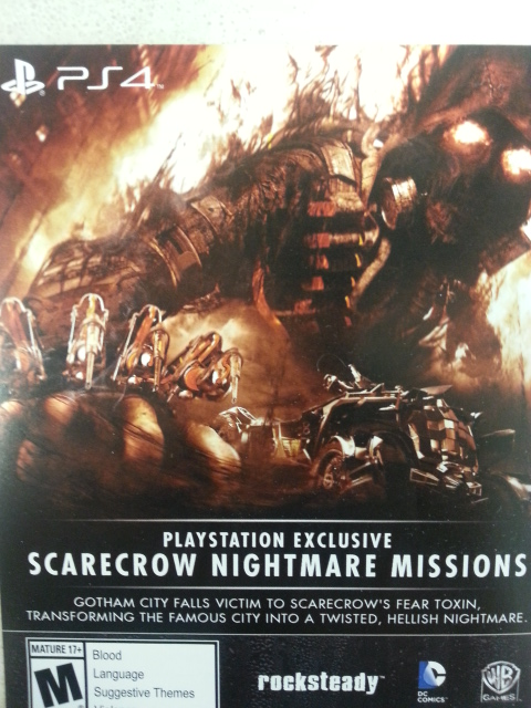 ScareCrow Nightmare Mission-PS4