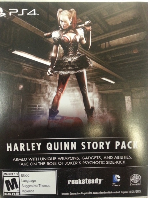 Harley Quinn Story Pack-PS4