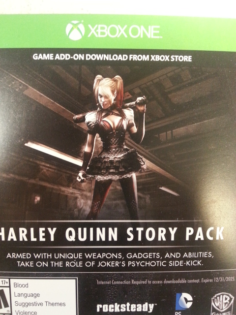Harley Quinn Story PAck-XBOX ONE