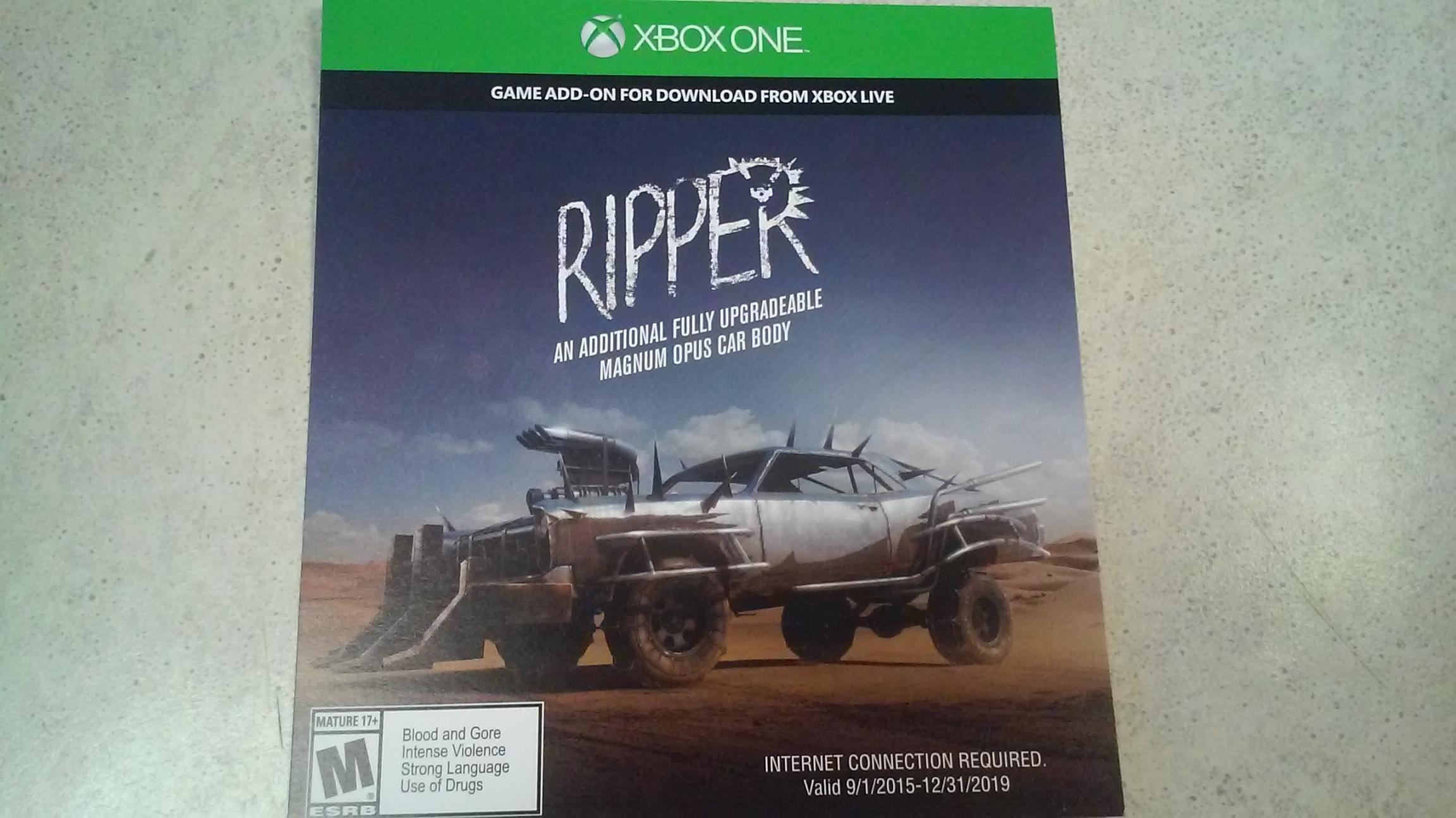 Ripper- Xbox One