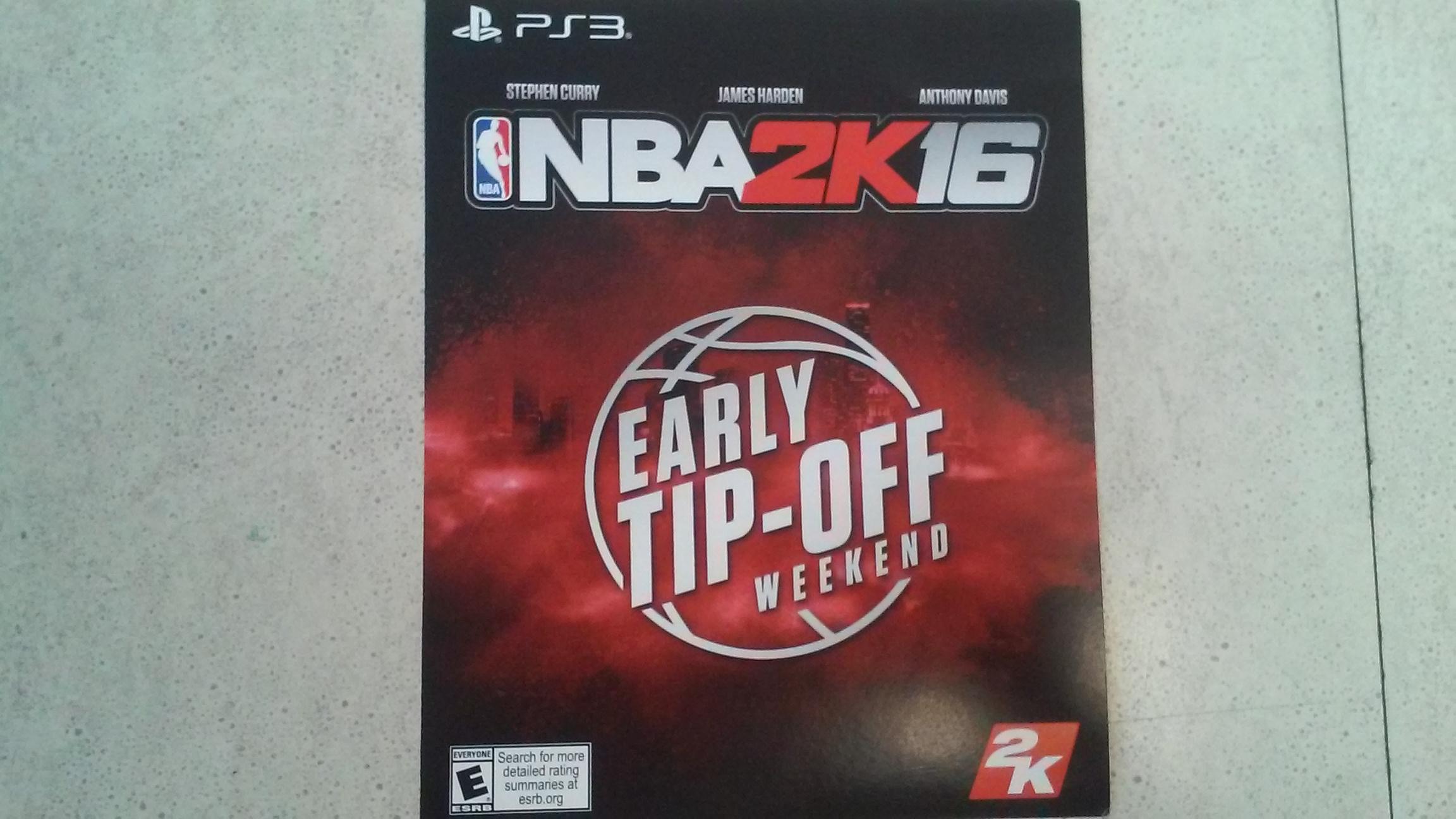 NBA 2K16- PS3