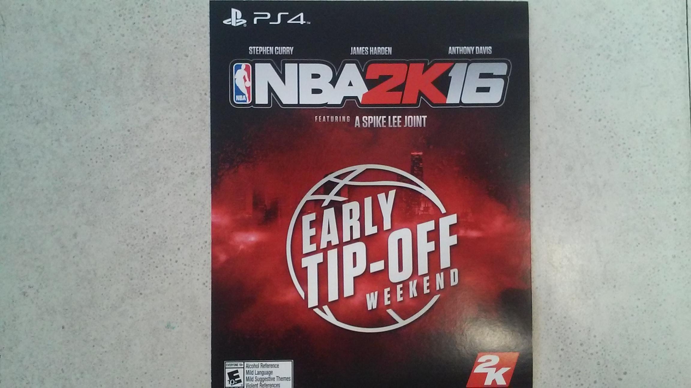 NBA 2K16- PS4