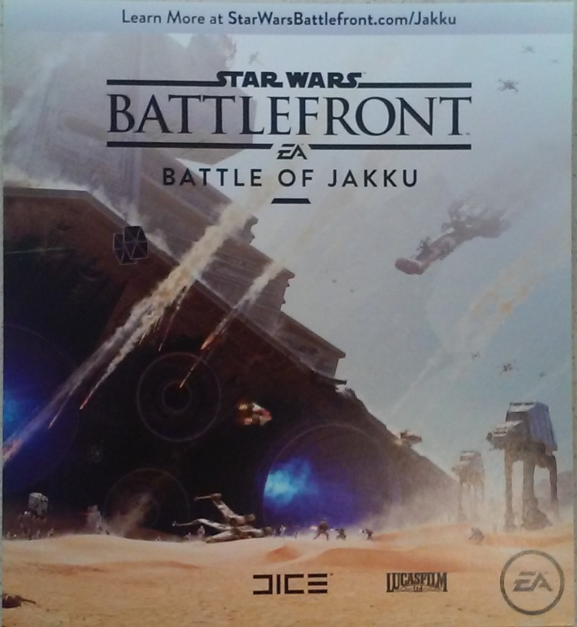 Star Wars Battlefront: Battle of Jakku XBOX ONE