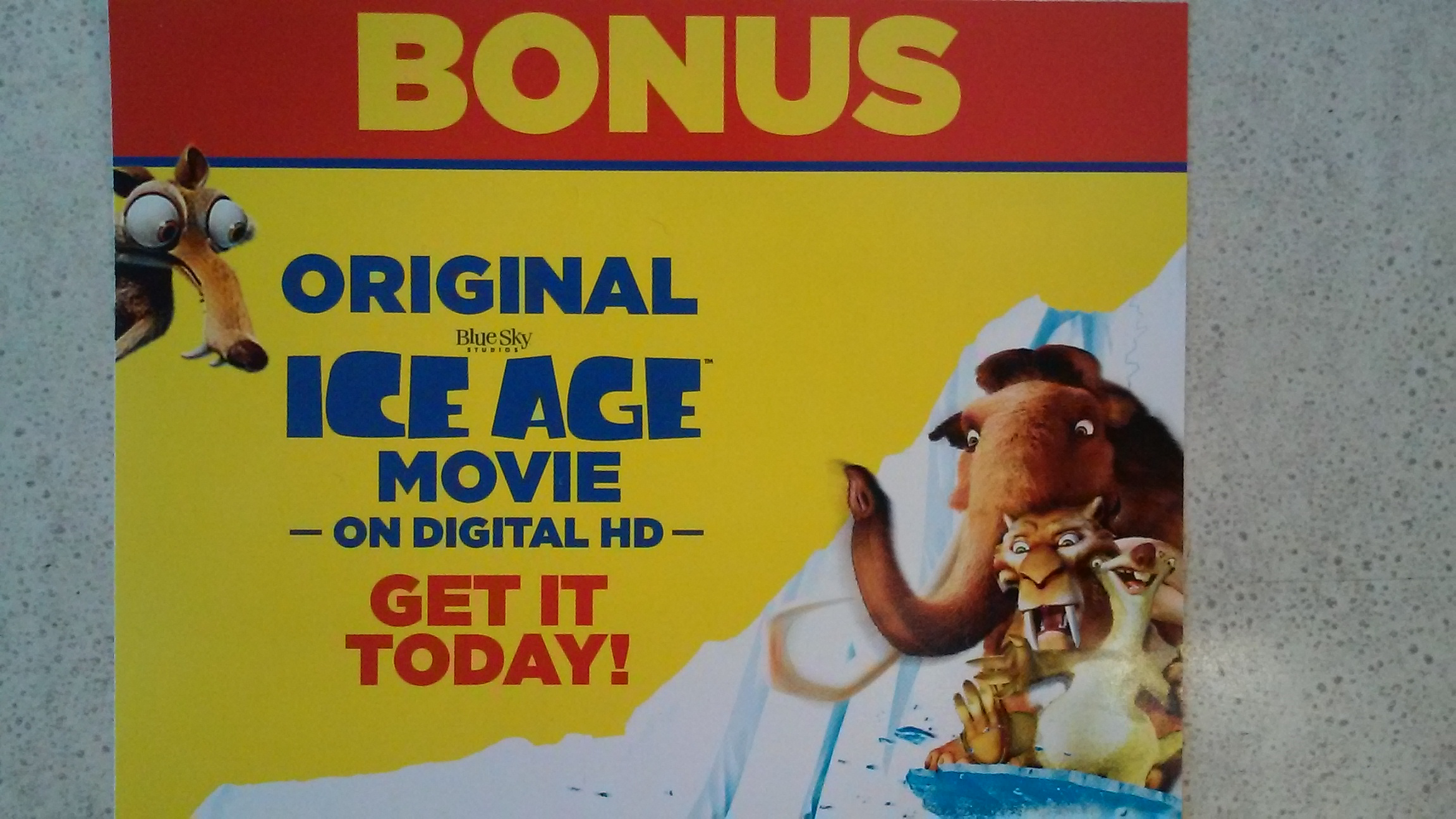 Ice Age Original Movie Bonus-HD