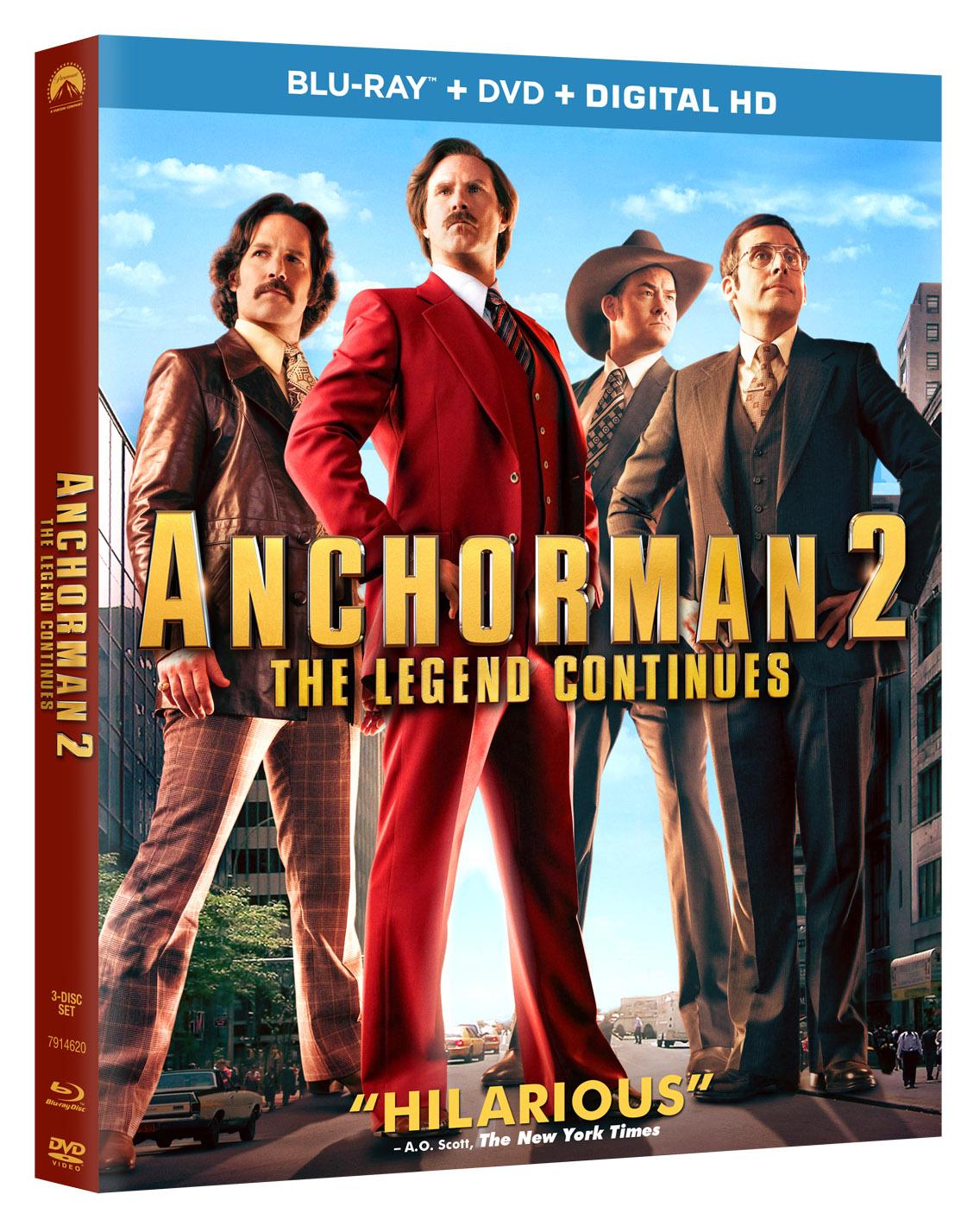 Anchorman 2-Blu-ray