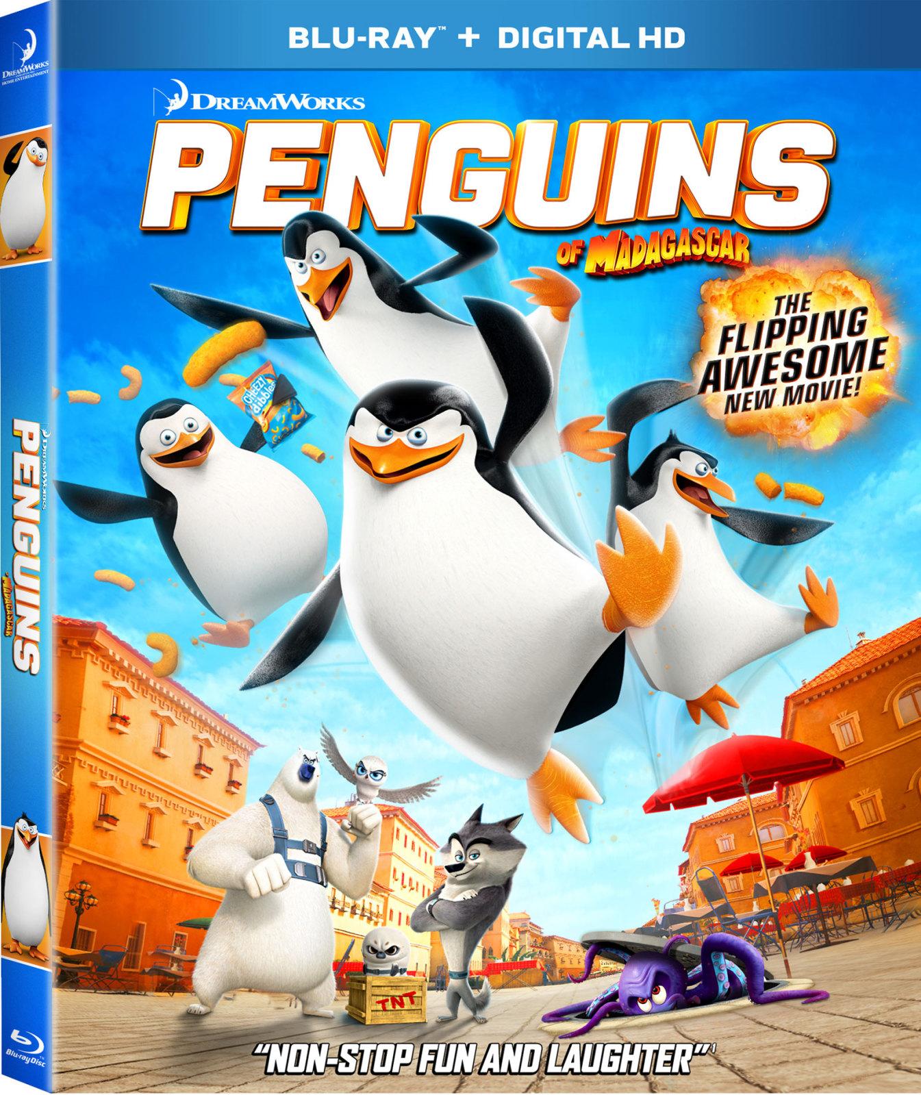 Penguins of Madagascar-Blu-ray