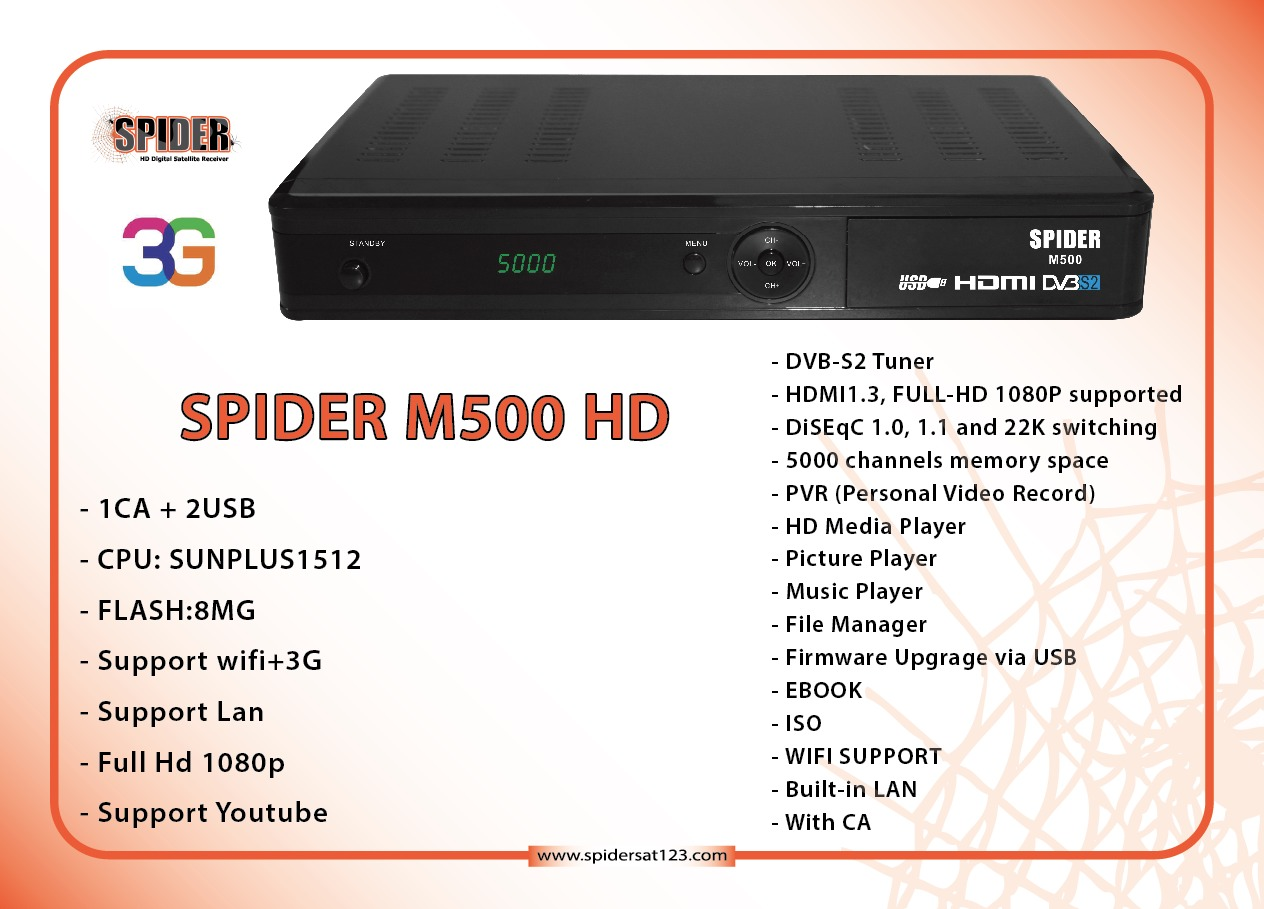 Spider M500 3/9/2013 3G& connect fbb04233-4f7b-4664-a
