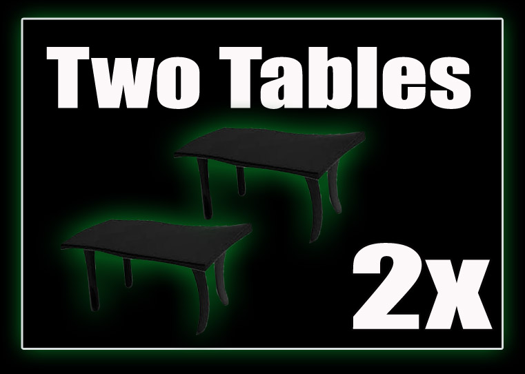 Two Toy Fair Vendor Tables for October 15th, 2017