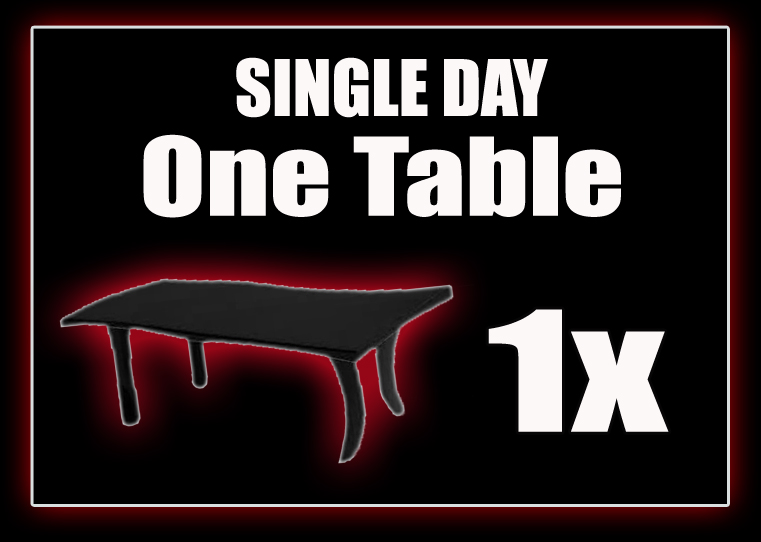 One Table - SINGLE DAY