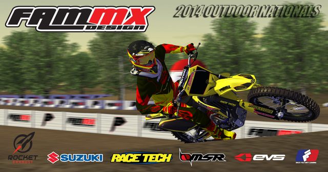 FAMmx 2014 Outdoor Skins on MX Simulator