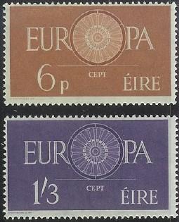 Ireland #175-76 Mint