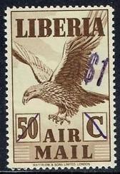 Liberia #C50 Mint