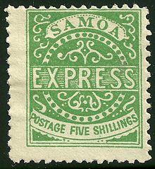 Samoa 1-8 Official Reprints