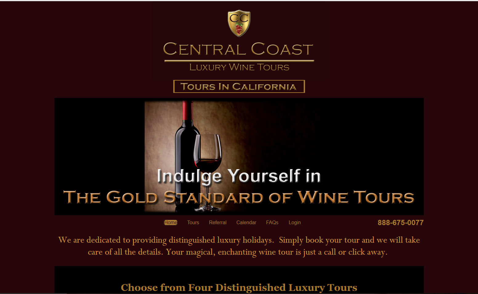 Central California Luxury Wine Tours