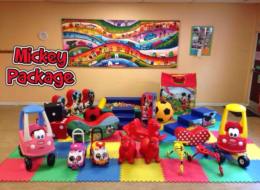 mickey mouse soft play