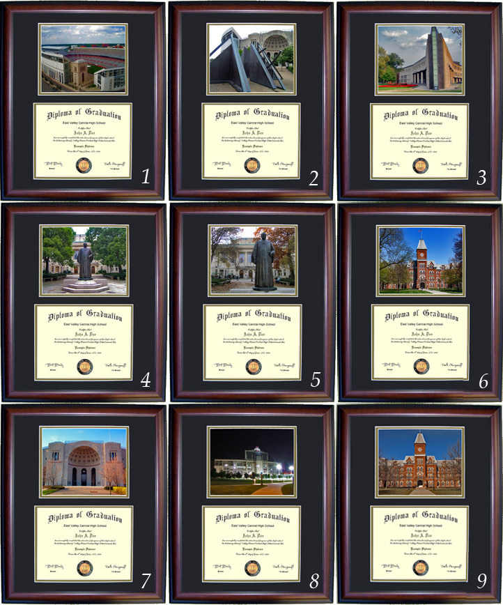 Executive Diploma Frames - All frames $99 - Ohio State University