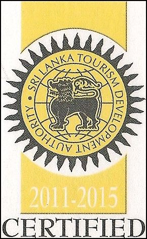 Sri Lanka Tourism Development Authority Certified