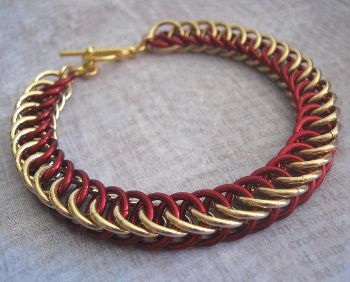 Captain Chain Maille Bracelet