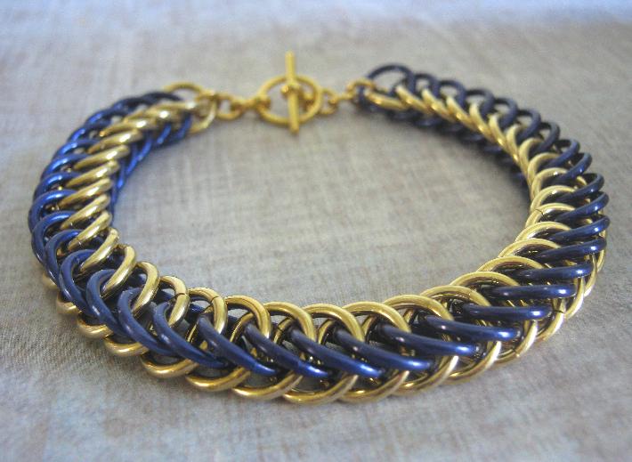 Seth Chain Maille Bracelet