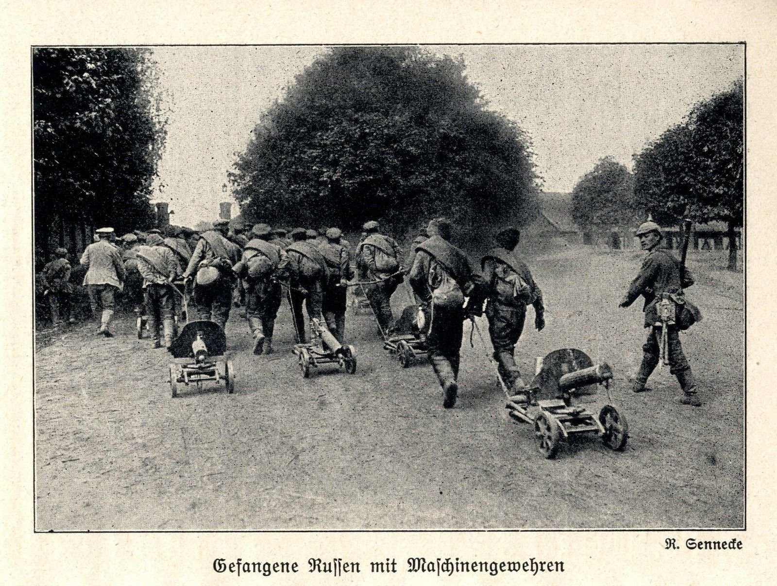 1914-Ostpreusen-Die-Schlacht-bei-Tannenberg-Gefangene-Russen-WW1-