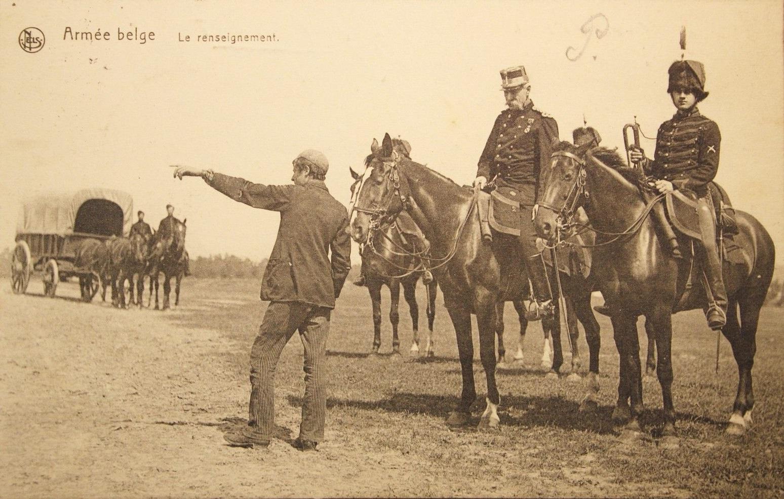WK-I-Belgische-Soldaten-Christelles-1915-Die-Armeefuhrung