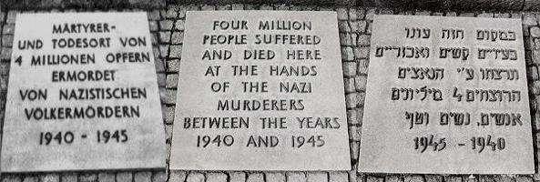 Im Jahre 1969 war dann eine Tafel mit der Angabe 4.000.000