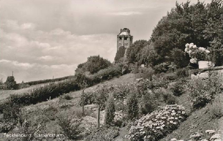 Tecklenburg - Bismarck-Turm und Denkmal - Postkarten