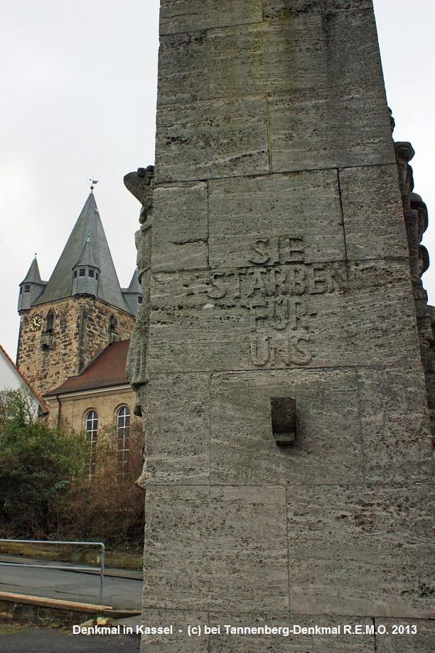 Kassel - Kriegnkmal fuer die Gefallennen beider Weltkriege!