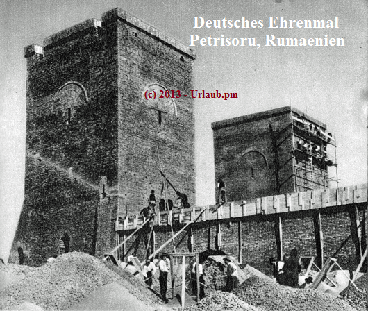 Deutsches Ehrenmal Petrisoru, Rumaenien