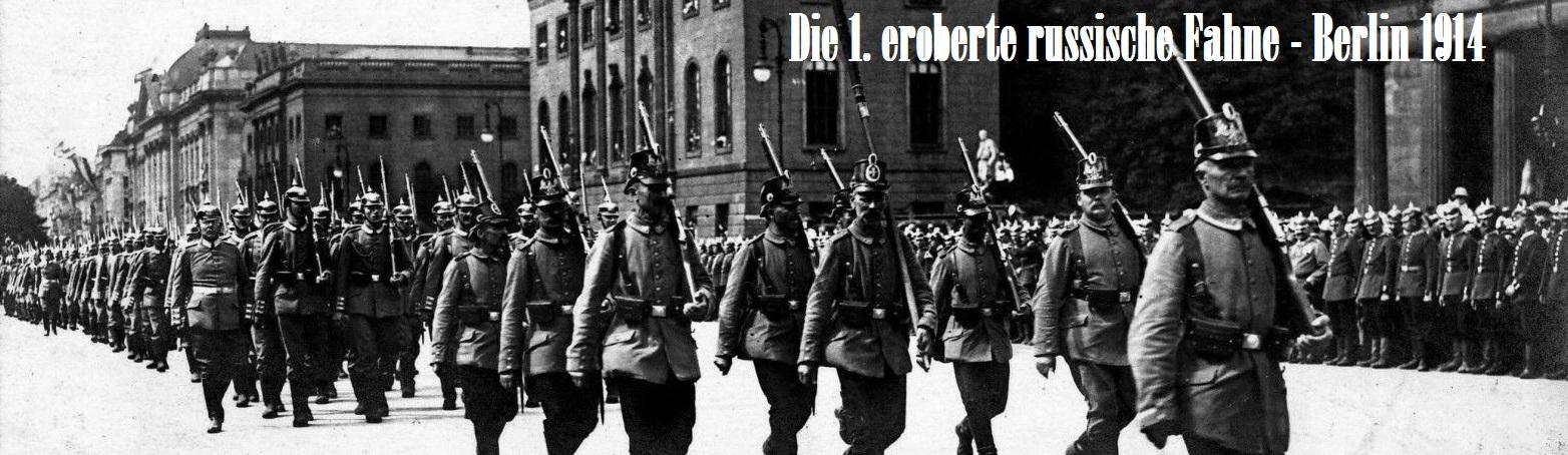 Erster Weltkrieg - Hauptseite