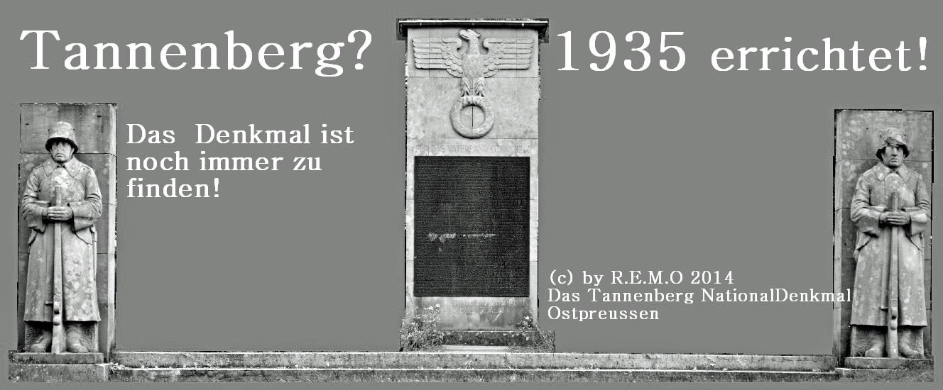 Tannenberg Denkmal - Die Tannenberg Kopie!