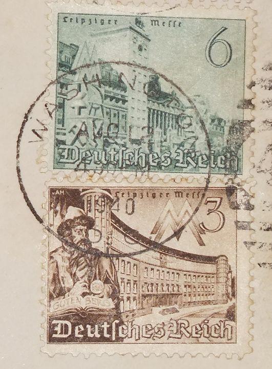 Eine Brief der USA Botschaft Berlin - an die =Peabody State Bank in Kansas= (VSA) - 1940 - Sehr Seltenes WK 2 - Document  - 5
