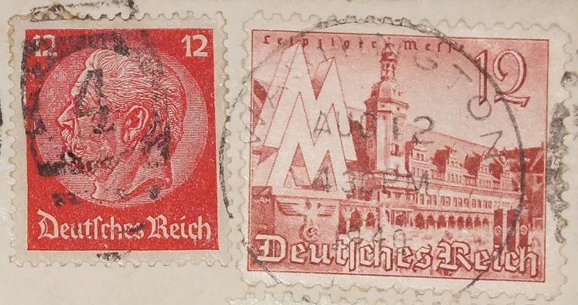 Eine Brief der USA Botschaft Berlin - an die =Peabody State Bank in Kansas= (VSA) - 1940 - Sehr Seltenes WK 2 - Document  - 4