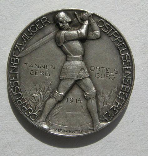 Hindenburg, Generaloberst, Zur Befreiung Ostpreussen 1914, Silbermedaille
