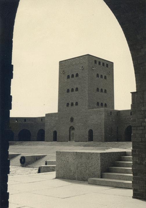 Reichsehrenmal Tannenberg  Ehrenhof -, Ostpreußenturm, WWII