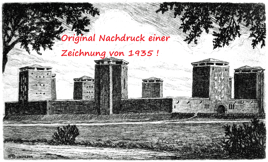 Tannenberg zeichnung von 1935