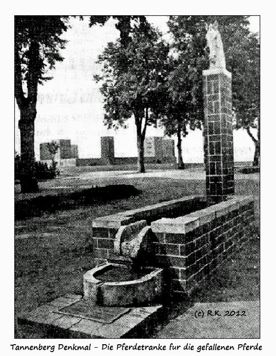 Pferdetranke - Ehrenmal am Tannenberg Denkmal