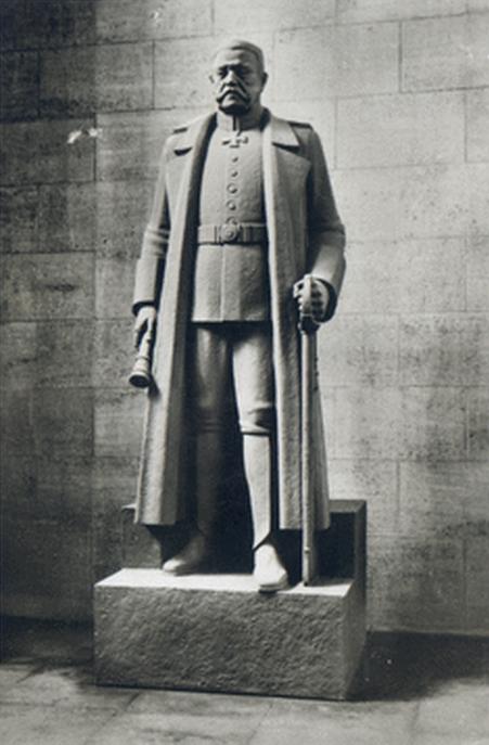 Hindenburg Standbild - Tannenberg